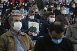 اولین سالگرد شهادت سردار سلیمانی در رفسنجان برگزار شد + تصاویر
