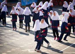 بازدید از مدارس رفسنجان در شرایط زرد کرونایی