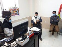 بازرسی از طرح شهید سلیمانی در دو مرکز بهداشت رفسنجان توسط کانون بسیج جامعه پزشکی