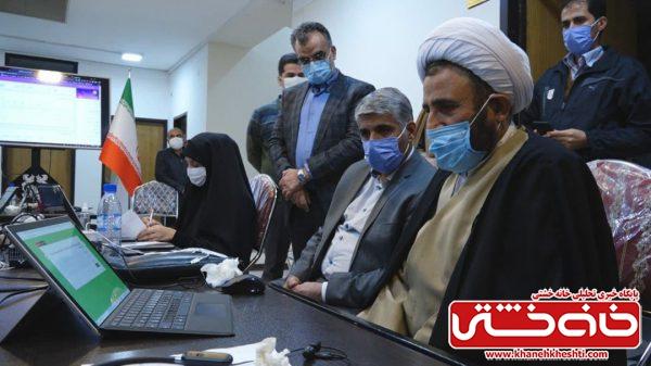 بازدید نماینده مردم رفسنجان و مدیر مجتمع مس سرچشمه از روند برگزاری آزمون قرآنی در فرهنگسرای مس+ تصاویر