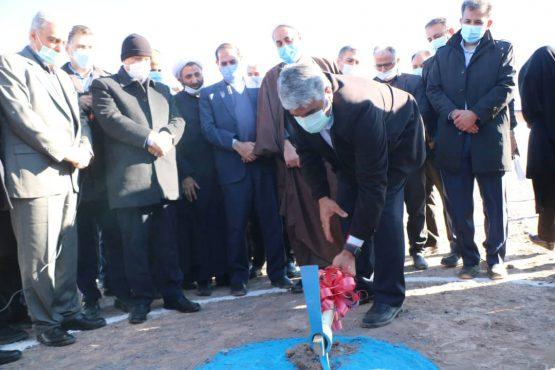 کلنگ تصفیه خانه مرکزی آب رفسنجان به زمین زده شد+ تصاویر