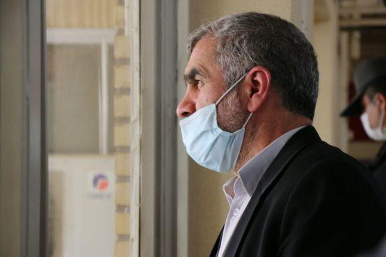 بازدید نائب رئیس مجلس شورای اسلامی از پروژه نیمه تمام مخزن ۱۵ هزار مترمکعبی در رفسنجان + تصاویر