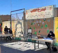 نیم رخ انقلاب در رفسنجان به نمایش گذاشته می شود