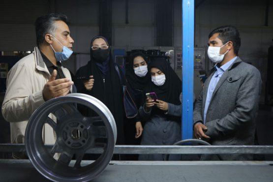 سومین تور صنعت و رسانه در رفسنجان + تصاویر