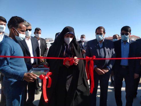 سه طرح اقتصادی و عمرانی در رفسنجان افتتاح شد+ تصاویر