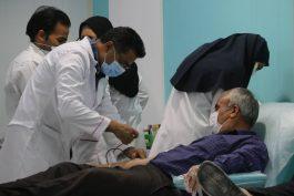 سنت حسنه اهدای خون مردم رفسنجان در شب های قدر رمضان ۱۴۰۰ + تصاویر