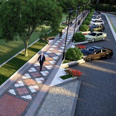 پروژه ترافیکی و زیباسازی شهرداری رفسنجان در بلوار شهید مدرس اجرا می شود
