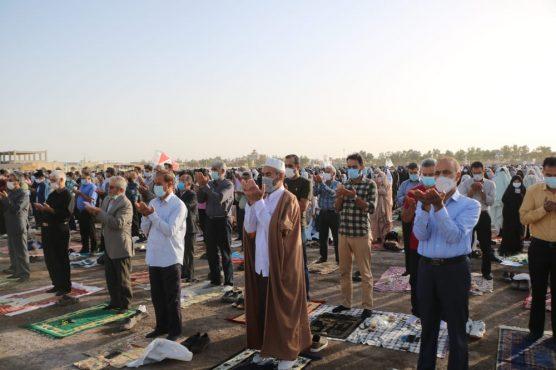 نماز عید سعید فطر در رفسنجان اقامه شد+ تصاویر