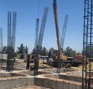 اجرای احداث ساختمان مرکزی سازمان حمل و نقل شهری شهرداری رفسنجان