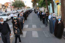 مراسم شهادت امام صادق (ع) در رفسنجان به روایت تصویر