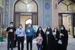گوشه ای از تصاویری که مردم رفسنجان در انتخابات ۱۴۰۰ رقم زدند