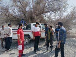 ۶ فرد مفقود شده در منوجان پس از ۹ ساعت نجات یافتند