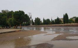 تخریب برخی پل ها و جاده های شهرستان بردسیر کرمان