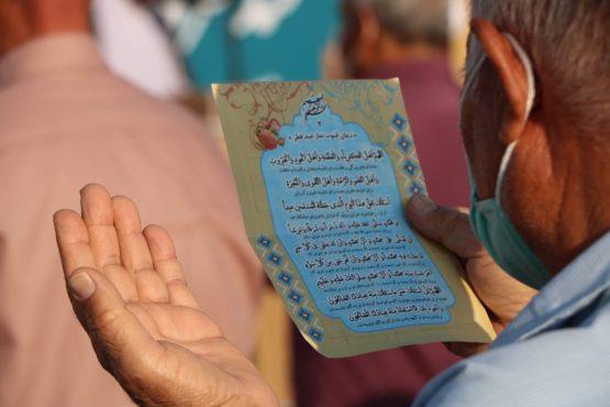 نماز عید قربان در رفسنجان اقامه شد+ تصاویر