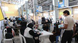 راه اندازی مرکز واکسیناسیون به همت بسیج جامعه پزشکی در رفسنجان + عکس
