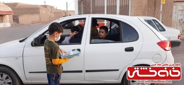 دیدار با خانواده شهید و توزیع ۲۰۰ پرس غذا در عیدغدیر