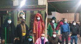 تعزیه خوانان از سنت دیرینه تعزیه در دره در رفسنجان می گویند