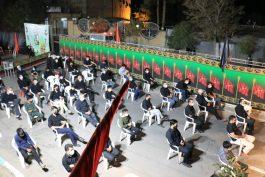 عزاداری هیات رزمندگان اسلام رفسنجان در شب هفتم ماه محرم + تصاویر