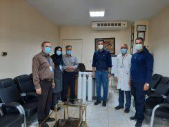 هدیه نفس به بیماران بیمارستان حضرت علی بن ابیطالب (ع)