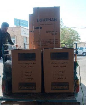 اهدای ۵۰ سری جهیزیه به مناسبت هفته دفاع مقدس در رفسنجان