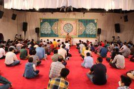 جشن آغاز امامت امام زمان (عج) در حسینیه نخل رفسنجان+ عکس
