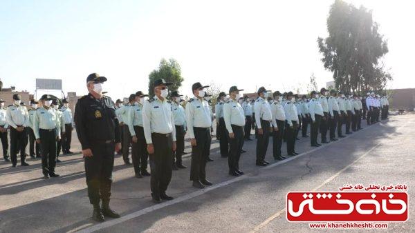 صبحگاه نیروهای مشترک مسلح به مناسبت هفته نیروی انتظامی + عکس