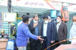 نمایشگاه دستاوردهای ورزشی در رفسنجان گشایش یافت + عکس و فیلم